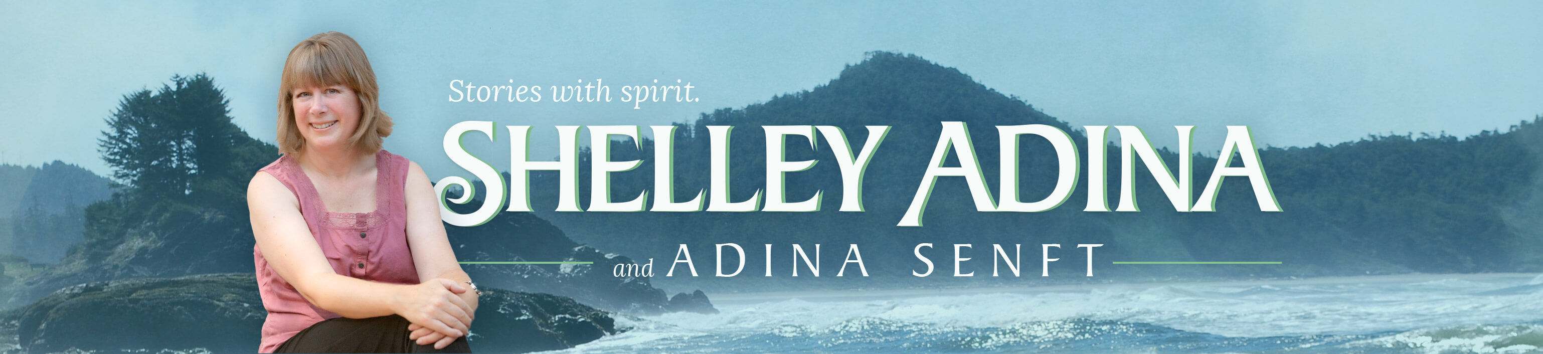 Author Shelley Adina & Adina Senft — Logo