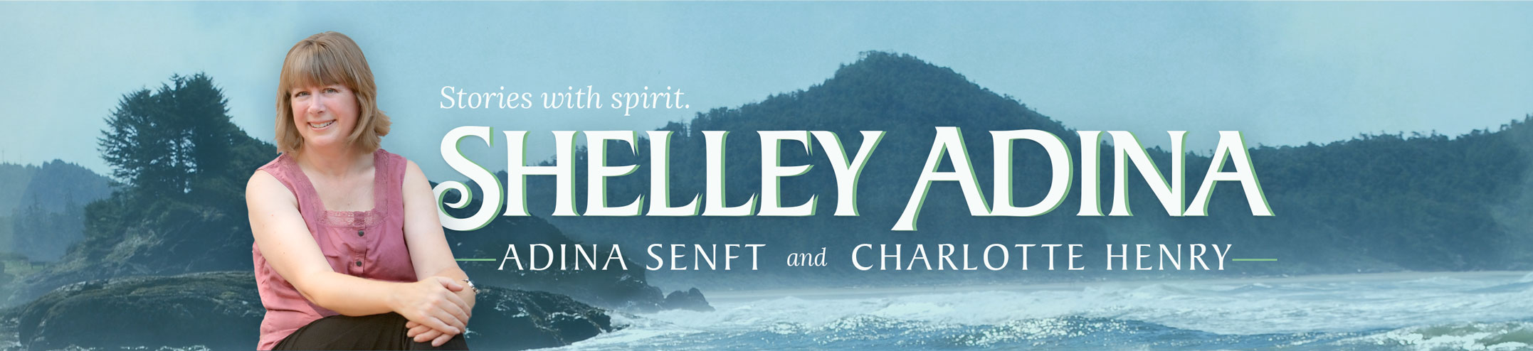 Author Shelley Adina, Adina Senft & Charlotte Henry — Logo