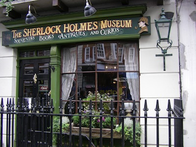 Holmes museum, photo by Emma Jane Holloway