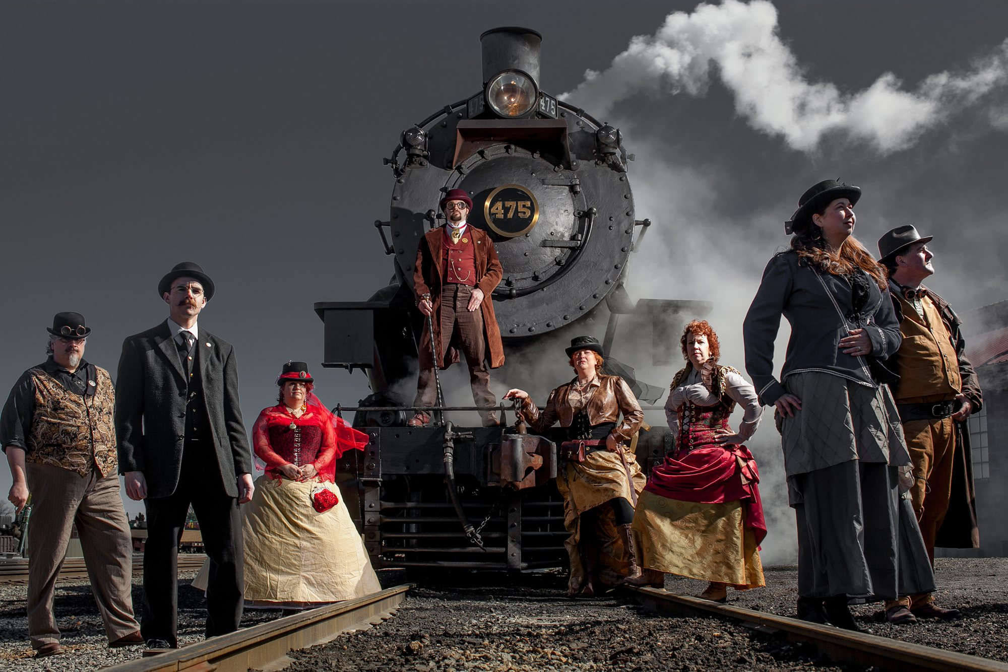 Steampunk UnLimited at the Strasburg Rail Road