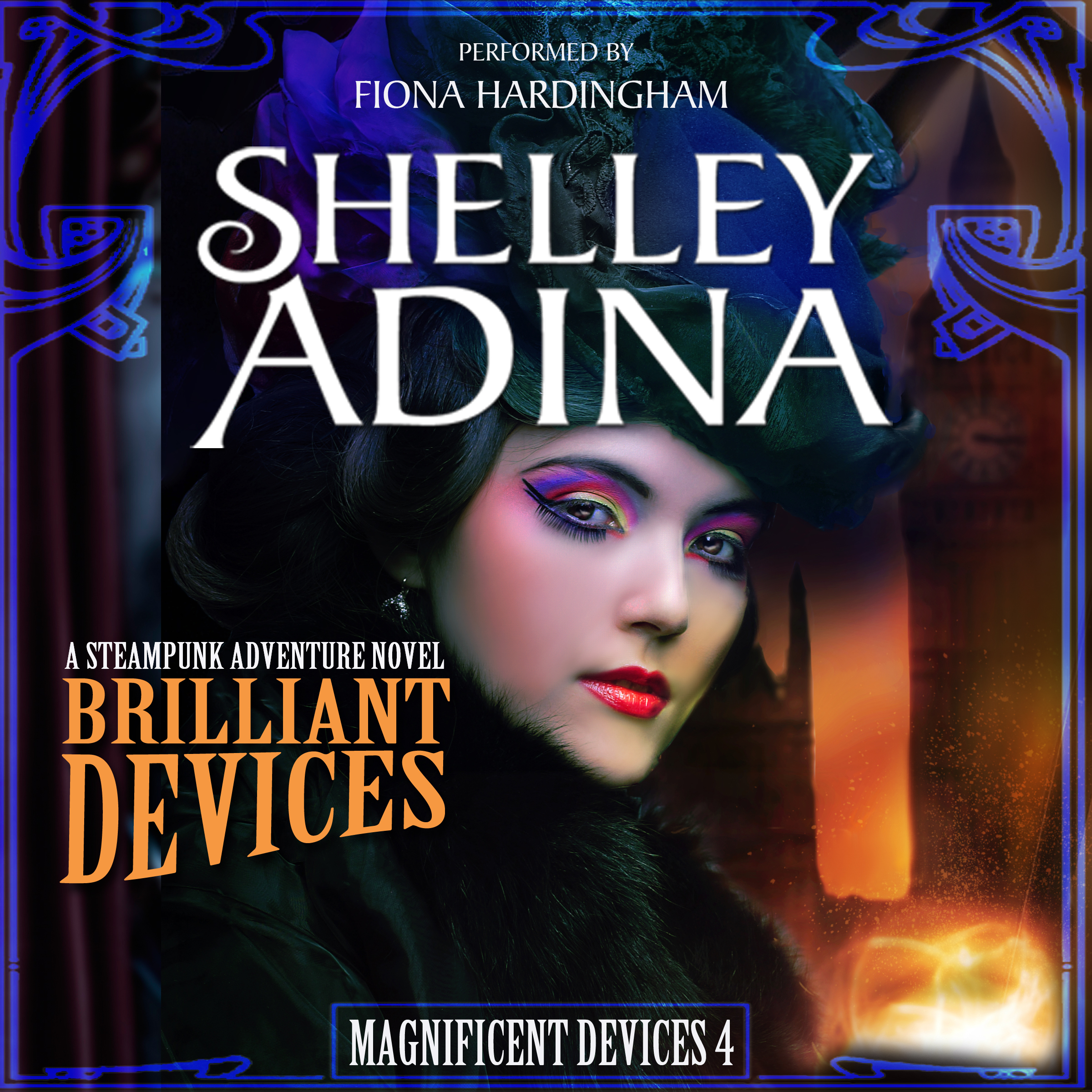 Brilliant Devices audiobook by Shelley Adina, performed by Fiona Hardingham
