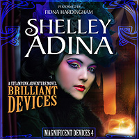Brilliant Devices by Shelley Adina, Audiobook