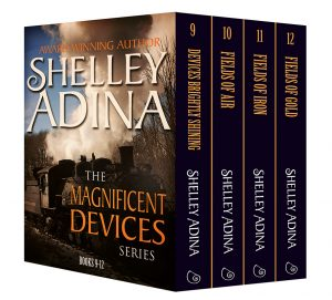 Magnificent Devices Books 9-12 by Shelley Adina