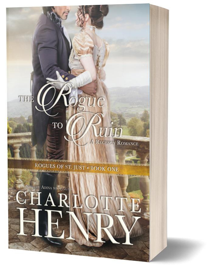Regency romance noves by Shelley Adina writing as Charlotte Henry