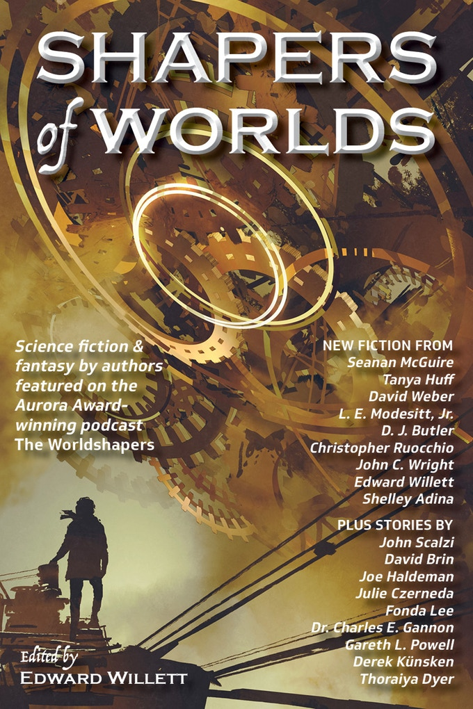 Shapers of Worlds, an anthology project funded at Kickstarter
