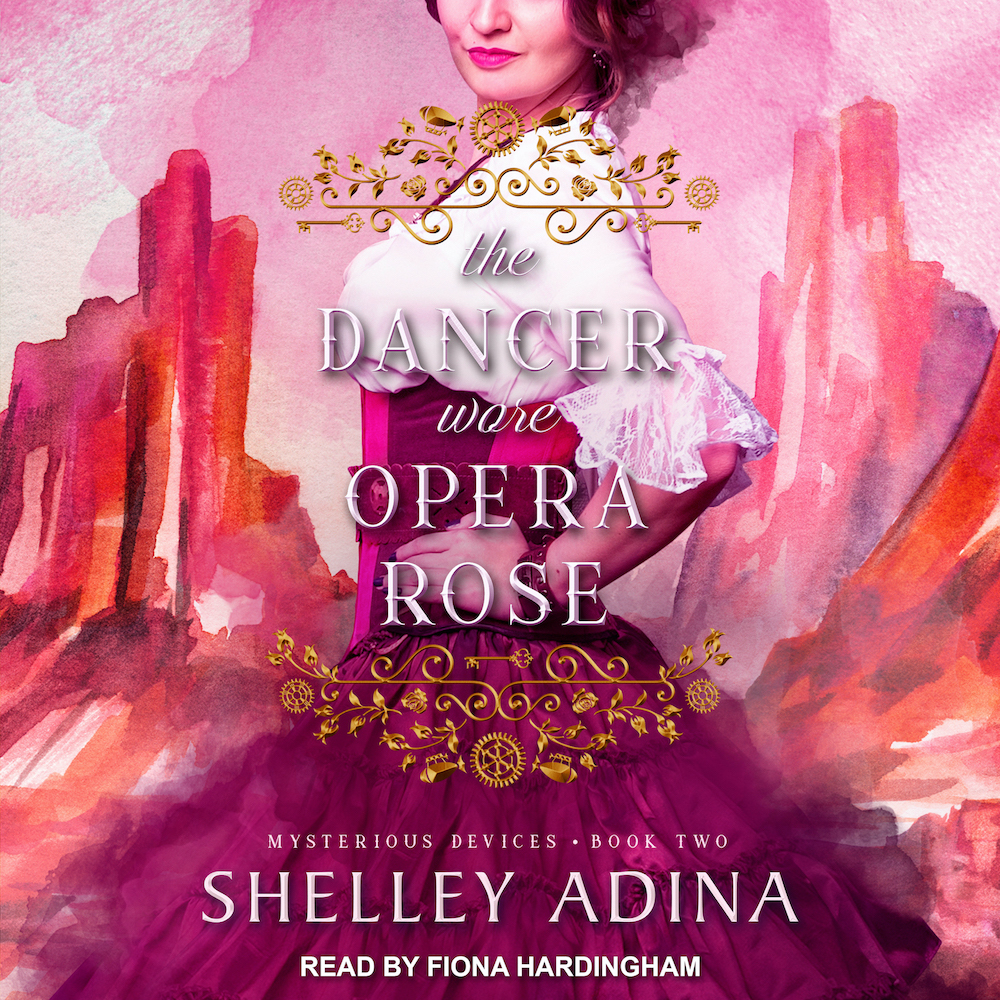 The Dancer Wore Opera Rose audiobook