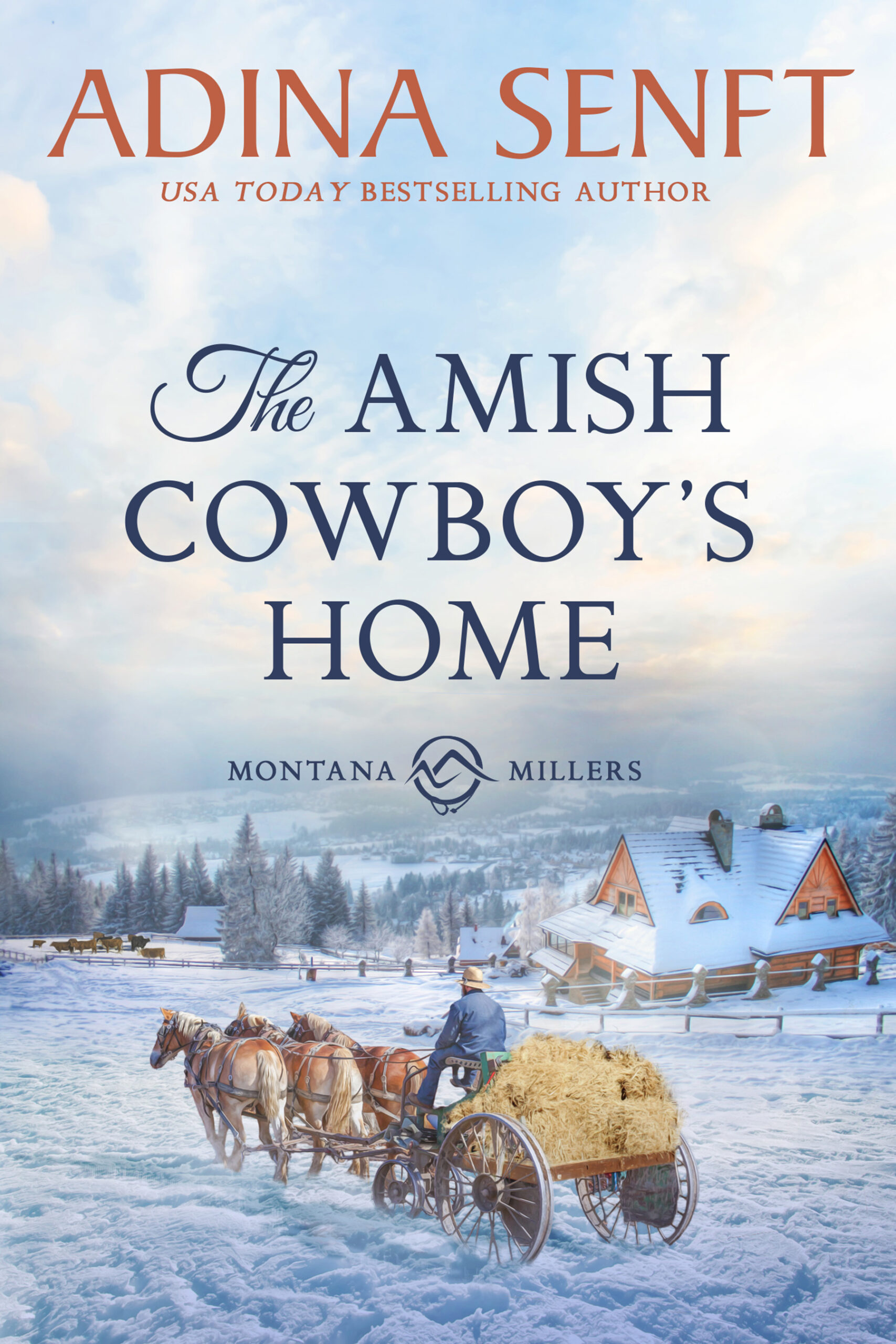The Amish Cowboy's Home by Adina Senft