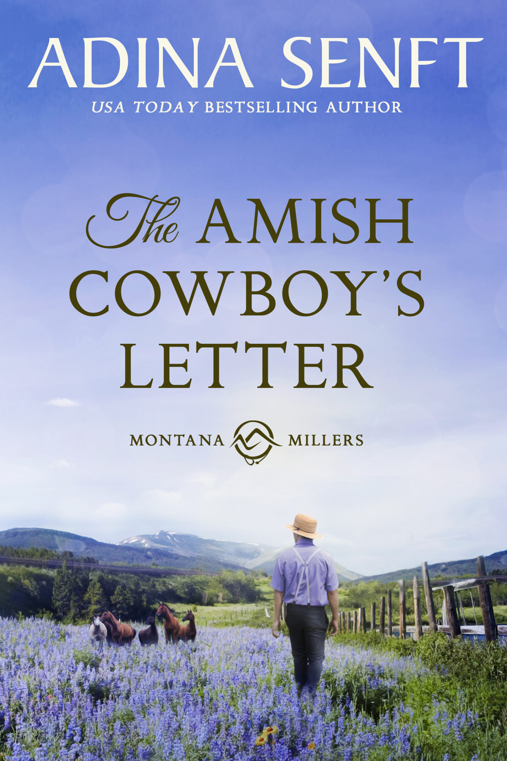 The Amish Cowboy's Letter by Adina Senft