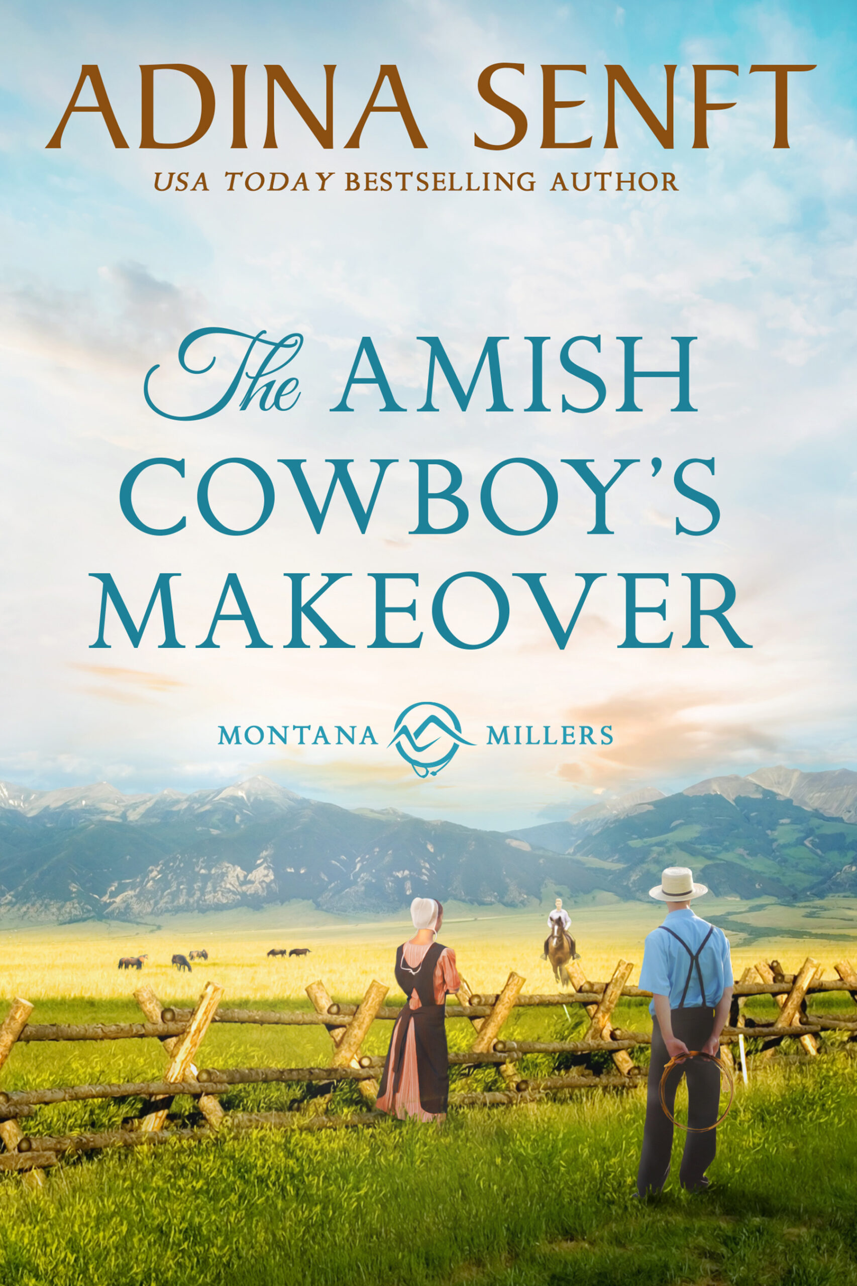The Amish Cowboy's Makeover by Adina Senft