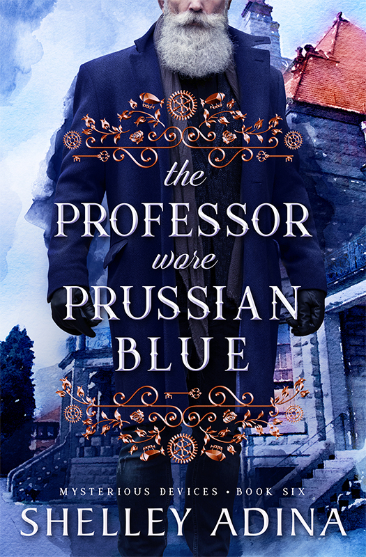 The Professor Wore Prussian Blue